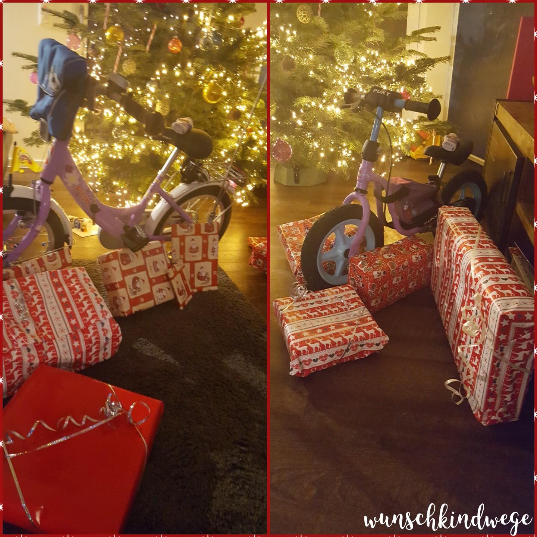 Weihnachtswochenende Geschenke unterm Baum
