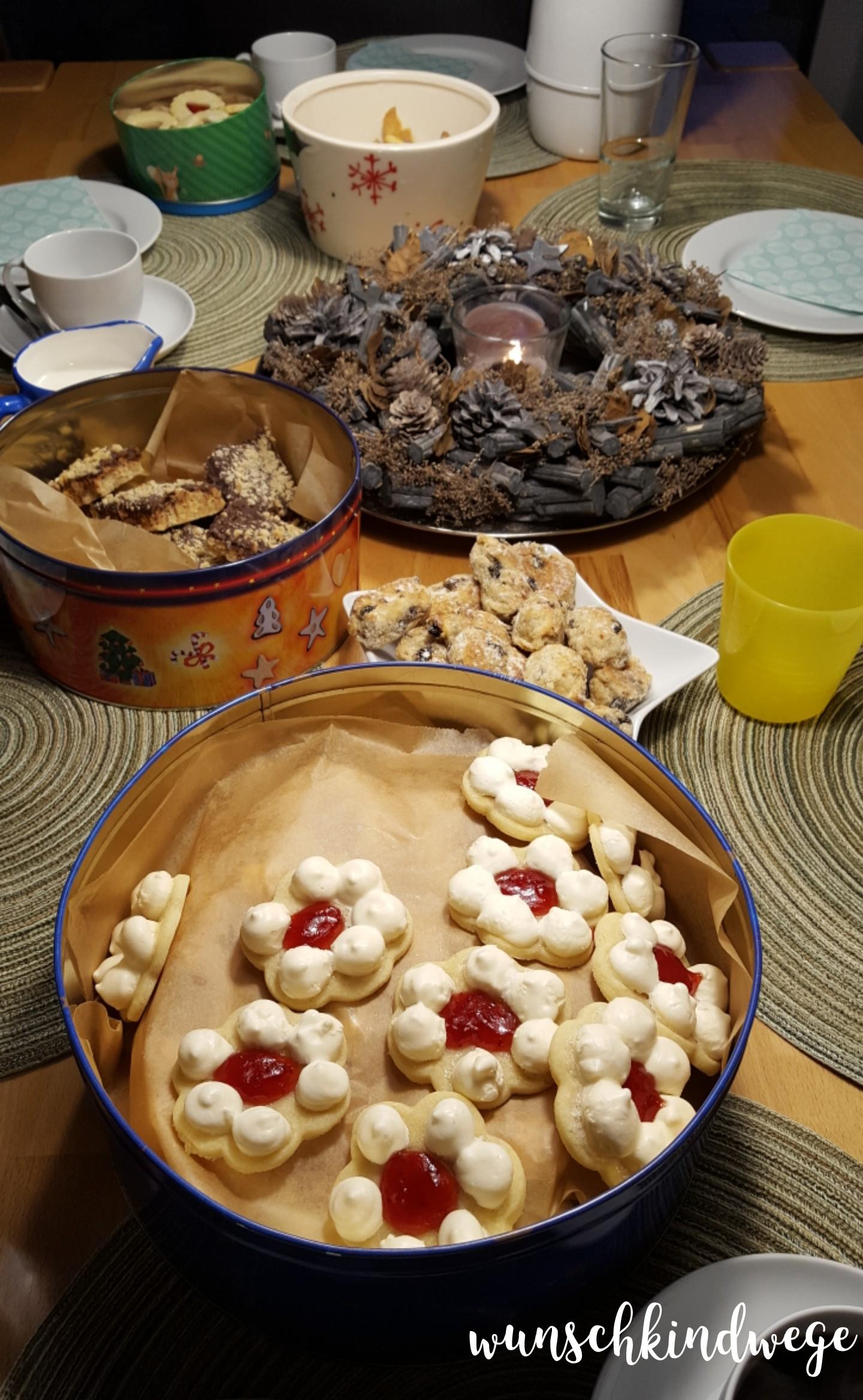 Silvesterwochenende Kaffe und Kekse