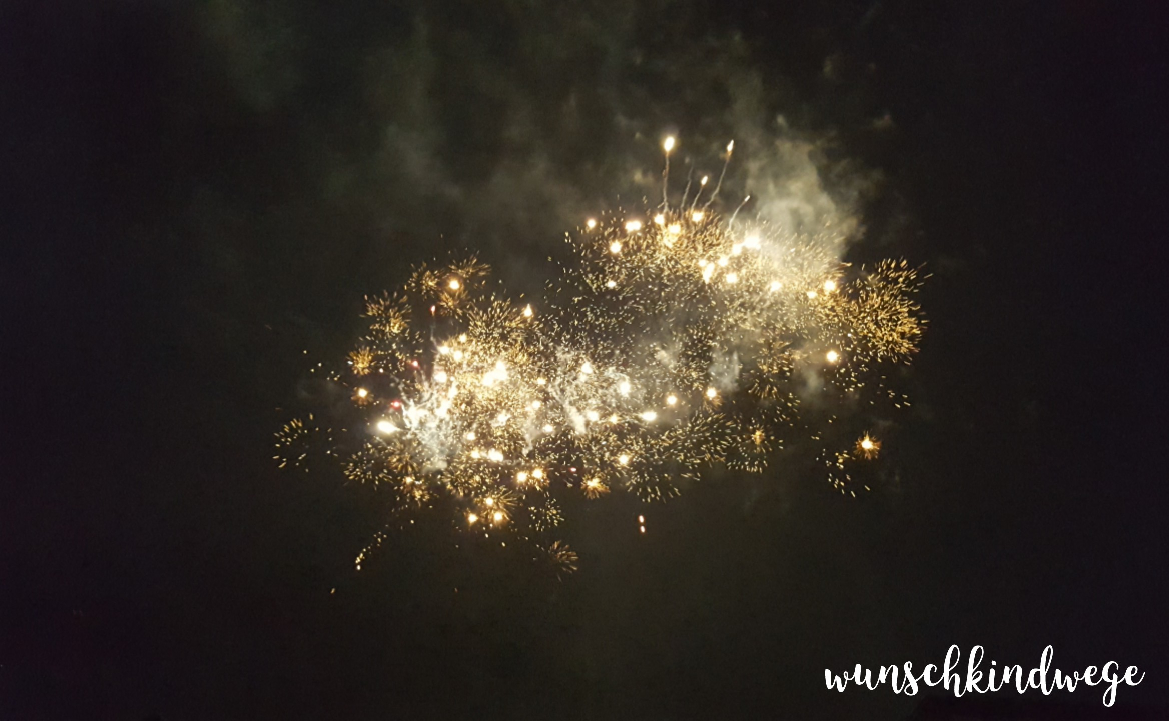 Silvesterwochenende Feuerwerk