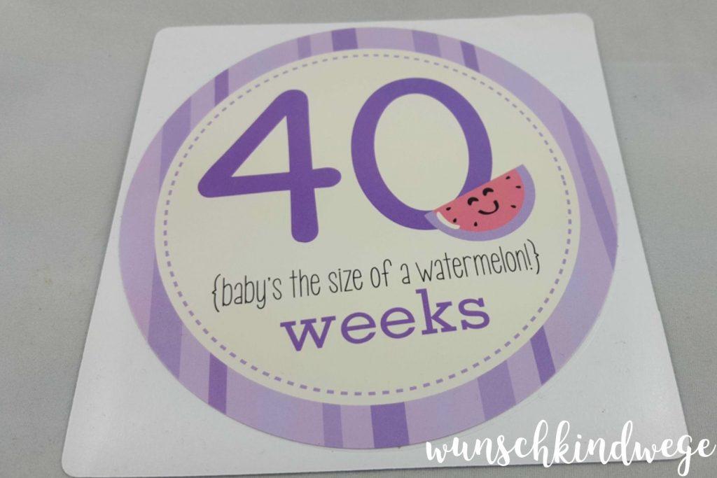 40 weeks Geburtsbericht