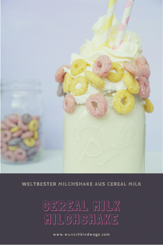 Cereal Milk Milchshake