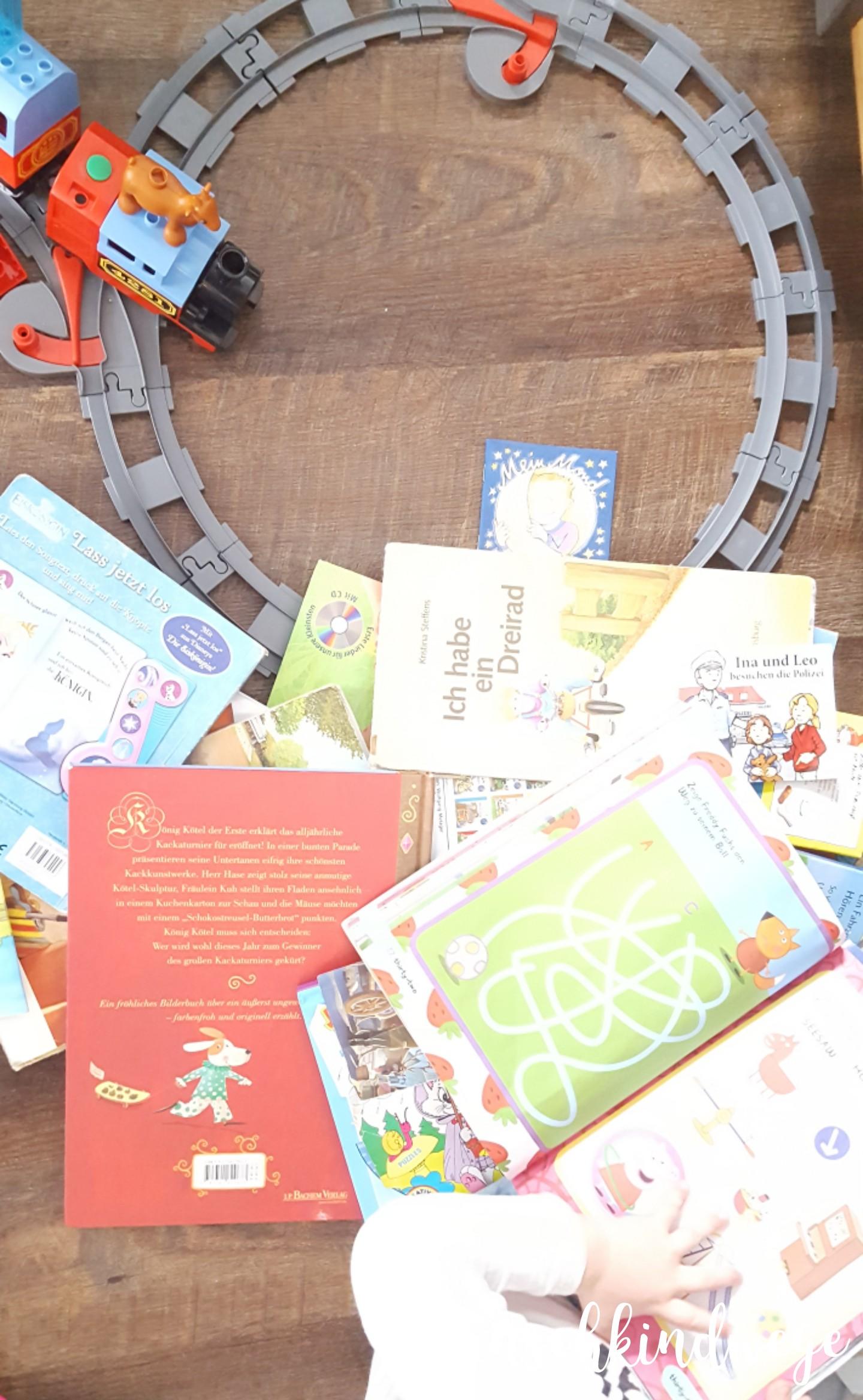 Silvesterwochenende Bücherschrank ausräumen