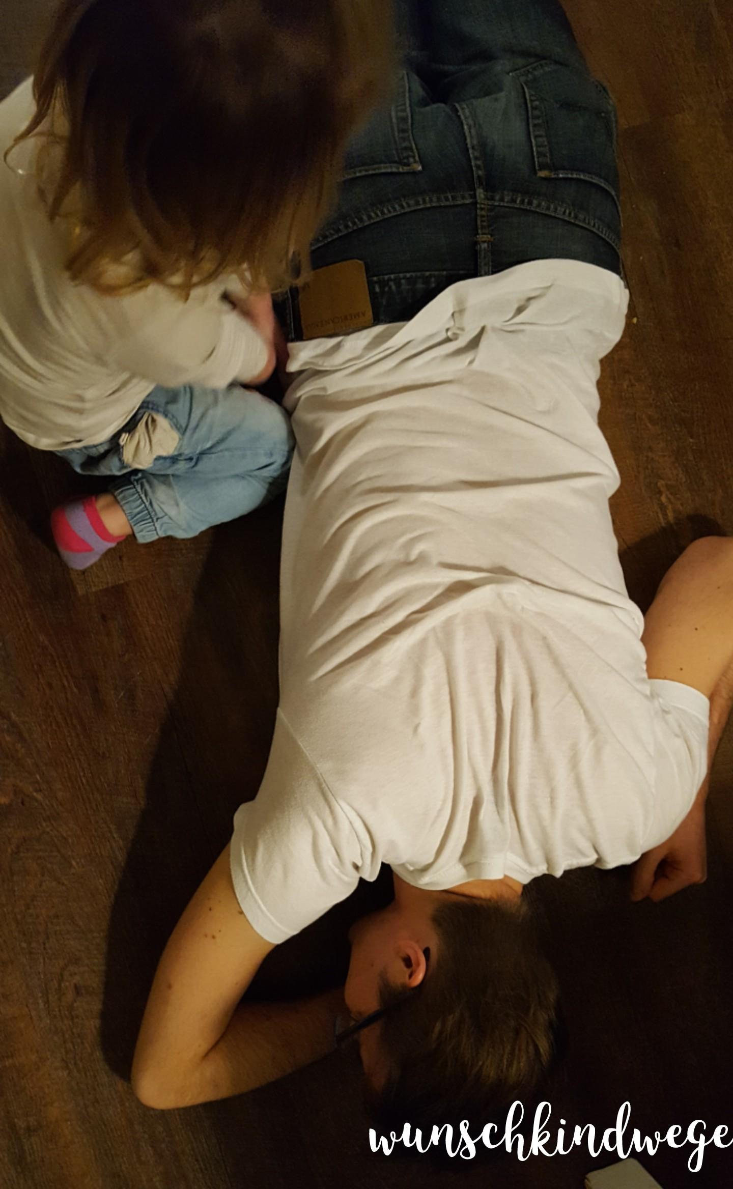 Silvesterwochenende Onkel am Boden