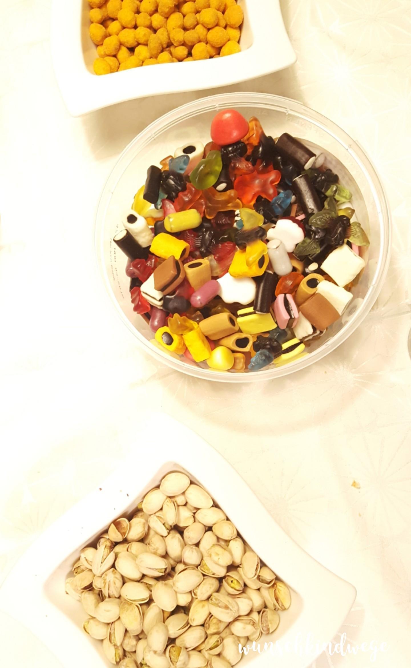 Silvesterwochenende Süßigkeiten