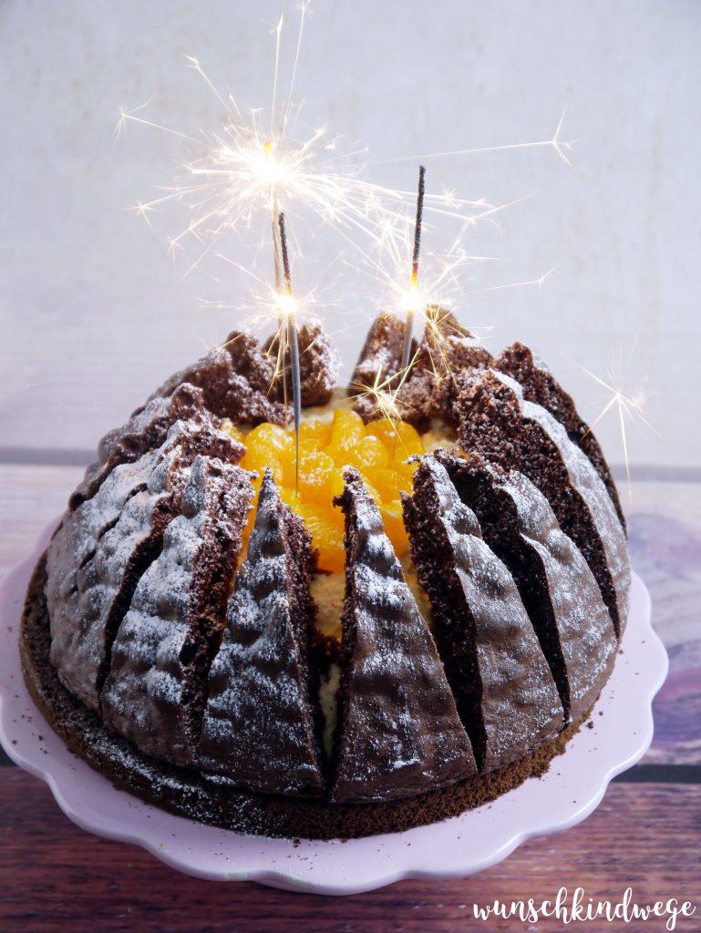 Vulkan Torte