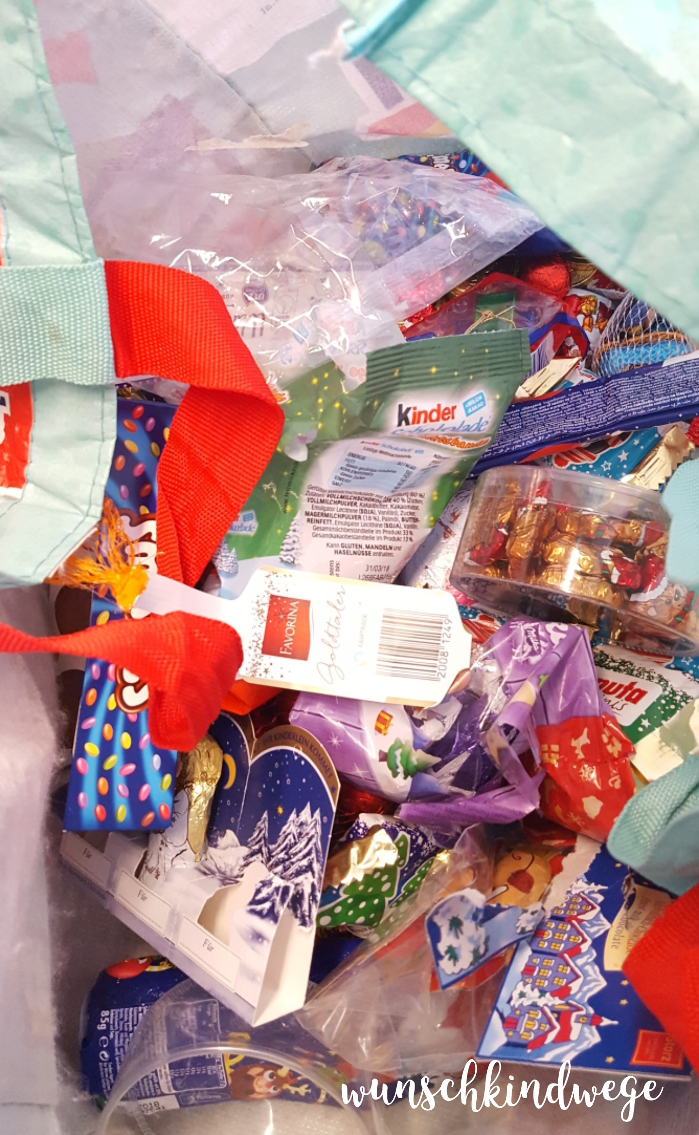 Karnevalswochenende Weihnachtsschokolade