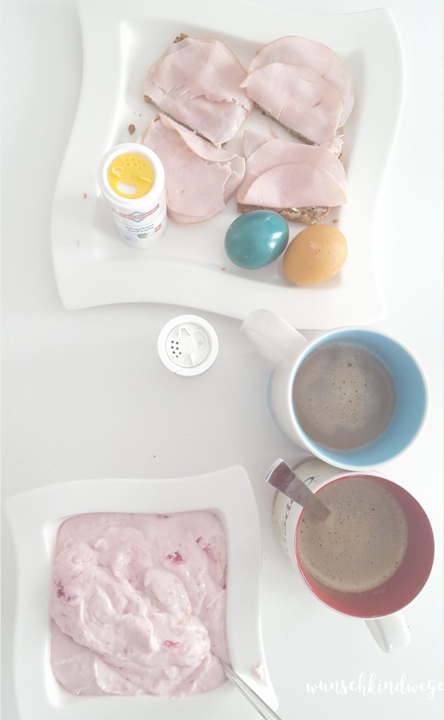 Osterwochenende in Bildern: Diätfrühstück
