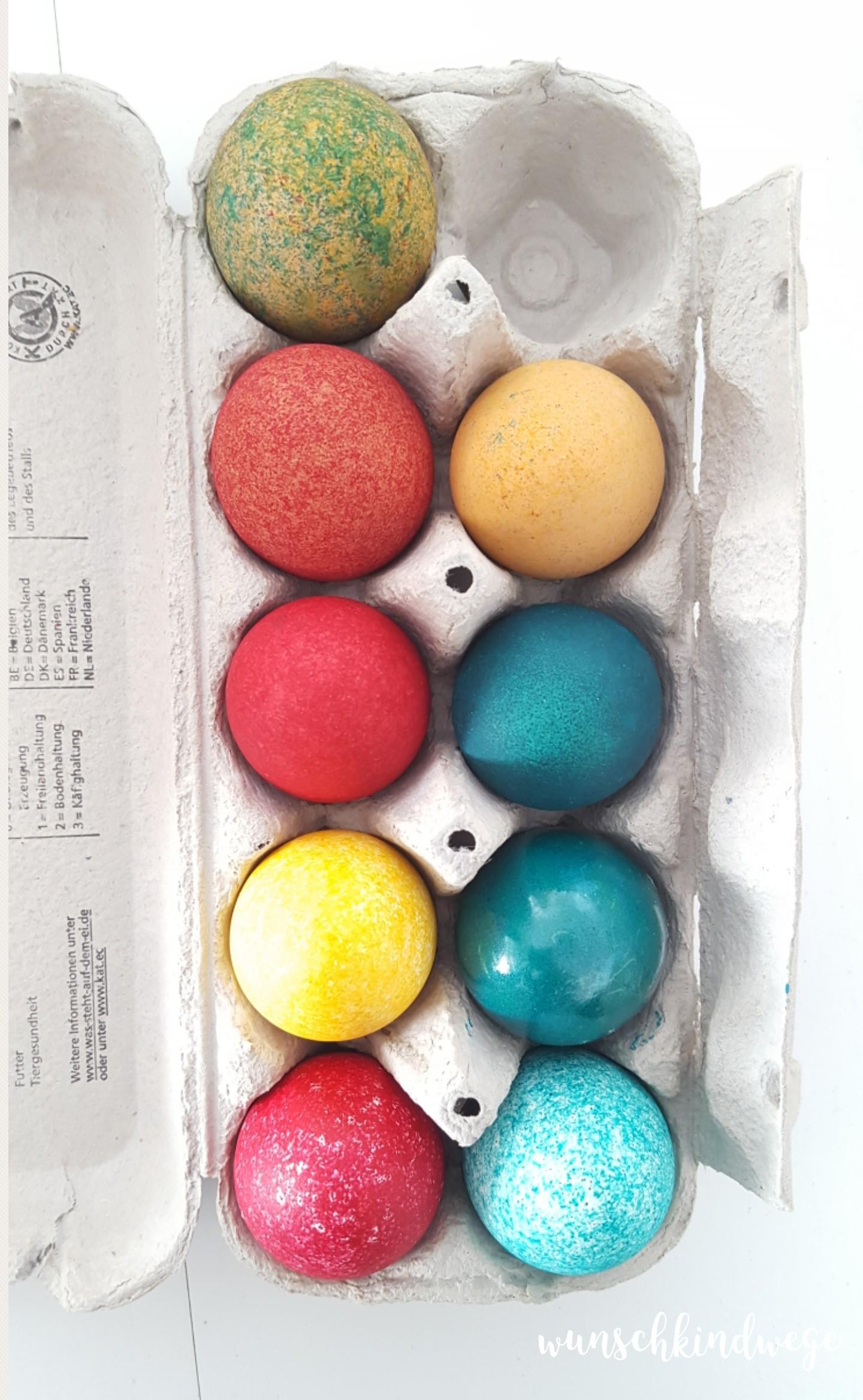 Osterwochenende in Bildern: Eier