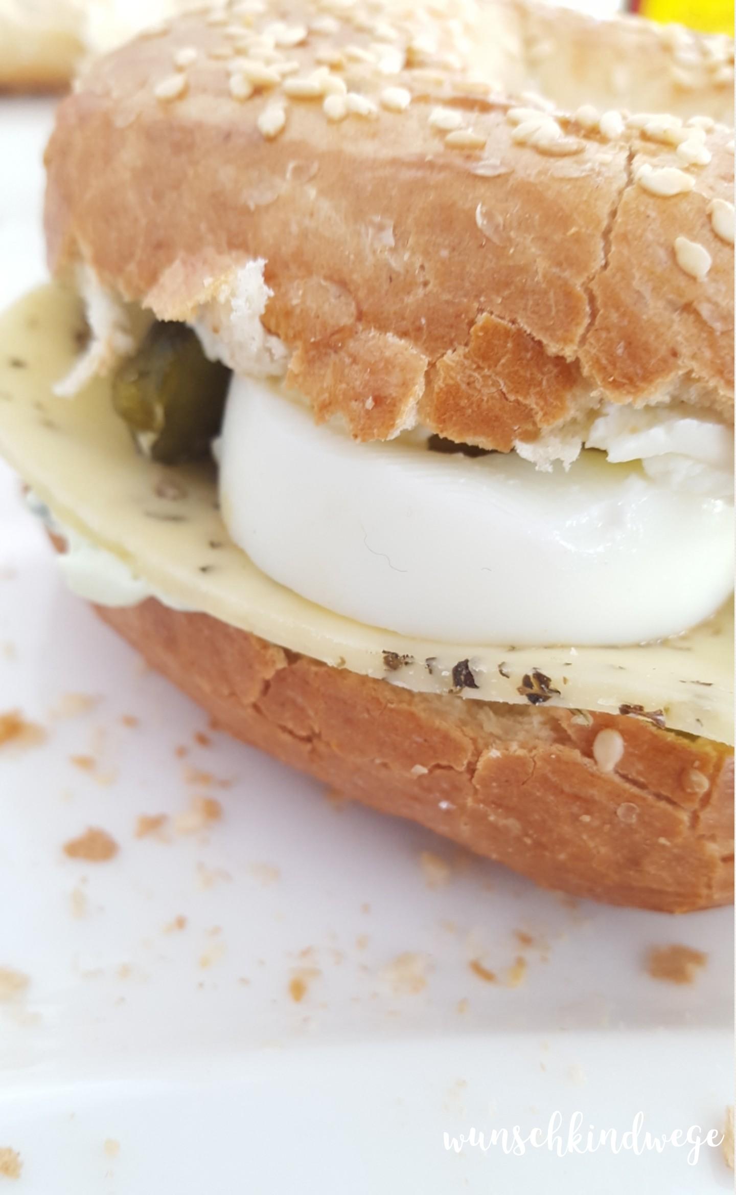Osterwochenende in Bildern: Frühstücksbagel