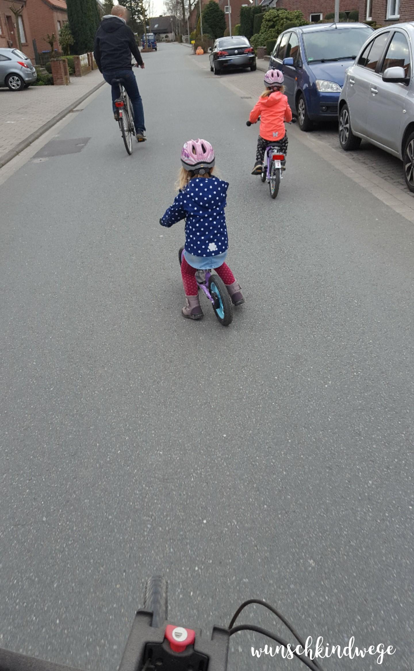 Osterwochenende in Bildern: Radtour