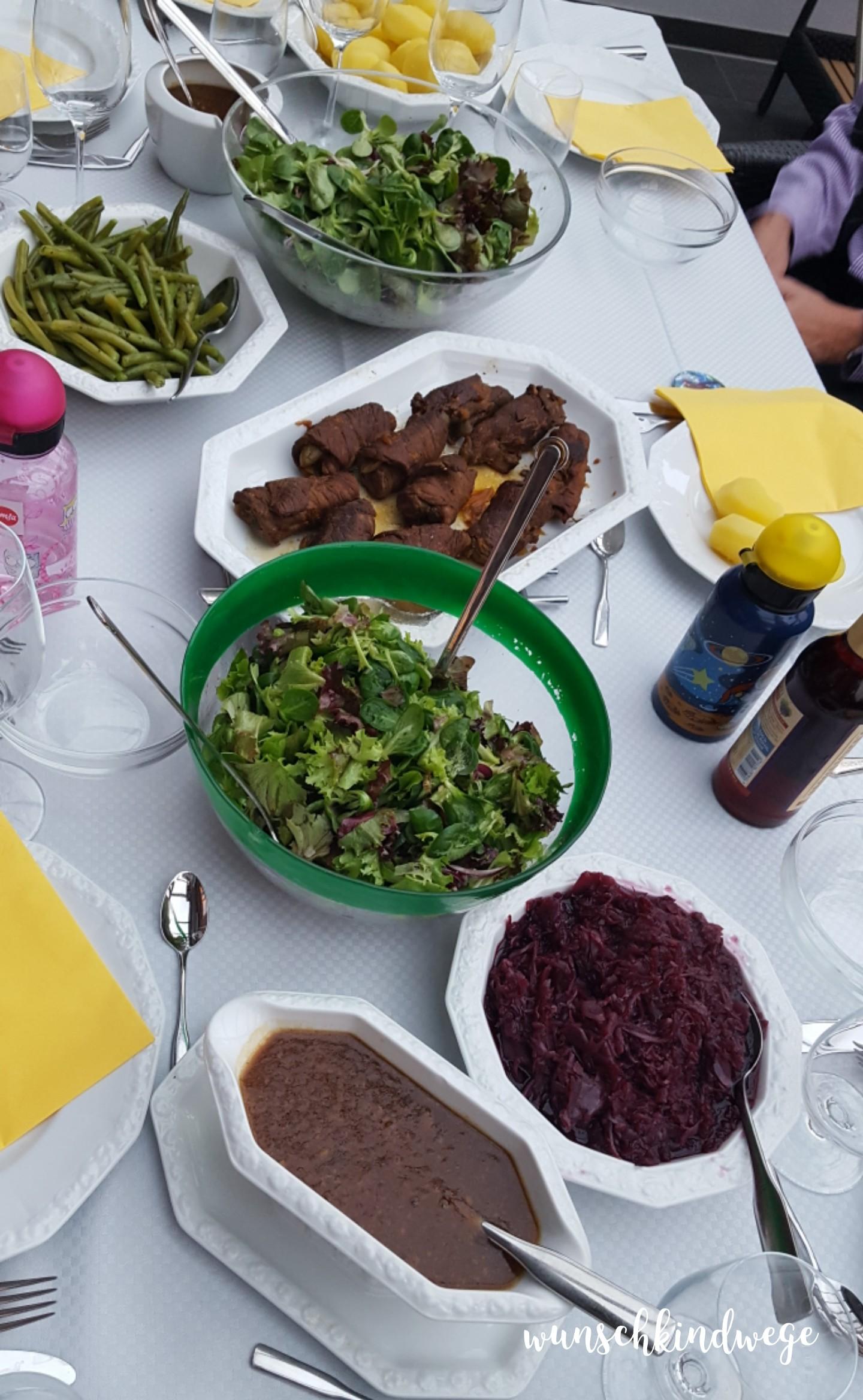 Osterwochenende in Bildern: Abendessen