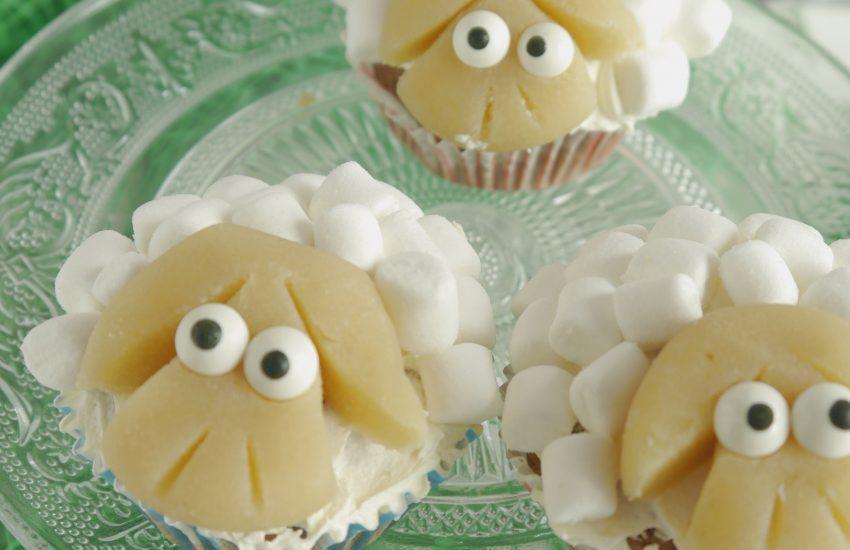 Schäfchen Cupcakes