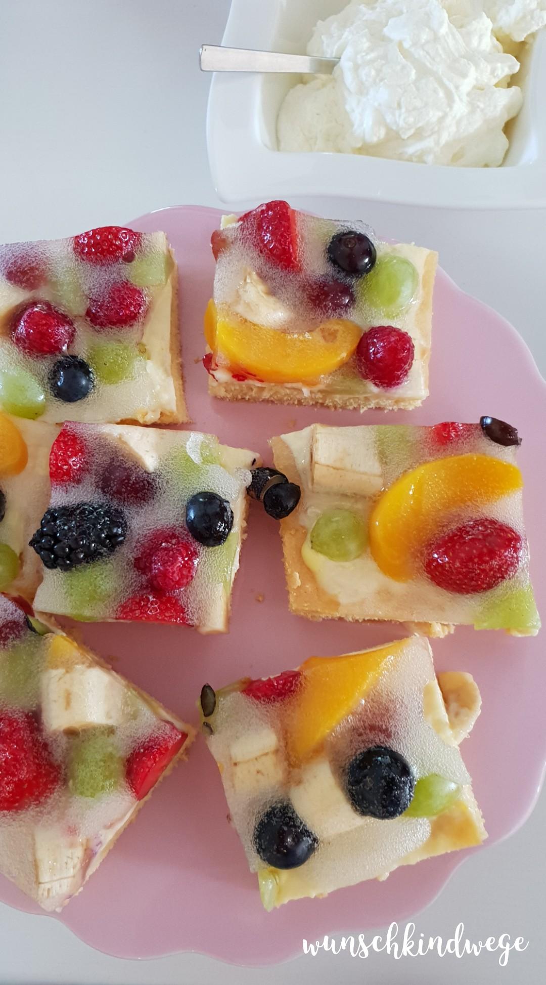 Pfingstwochenende in Bildern: Kuchen mit Sahne