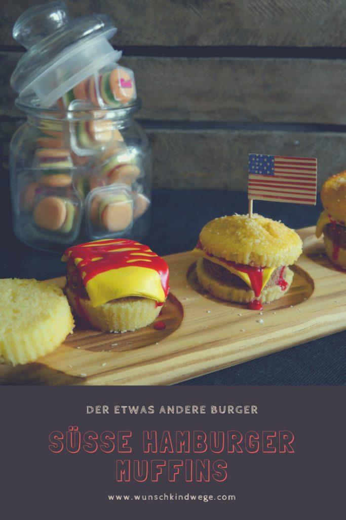 Süsse Hamburger Muffins