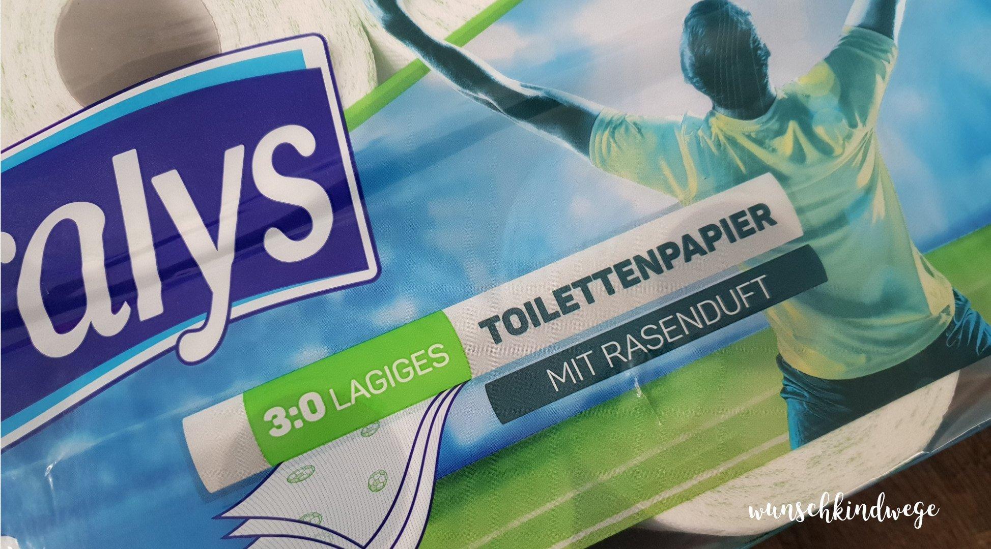 WMDEDGT Toilettenpapier mit Rasenduft