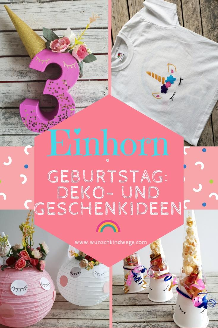 Einhorn Geburtstag Ideen und Deko