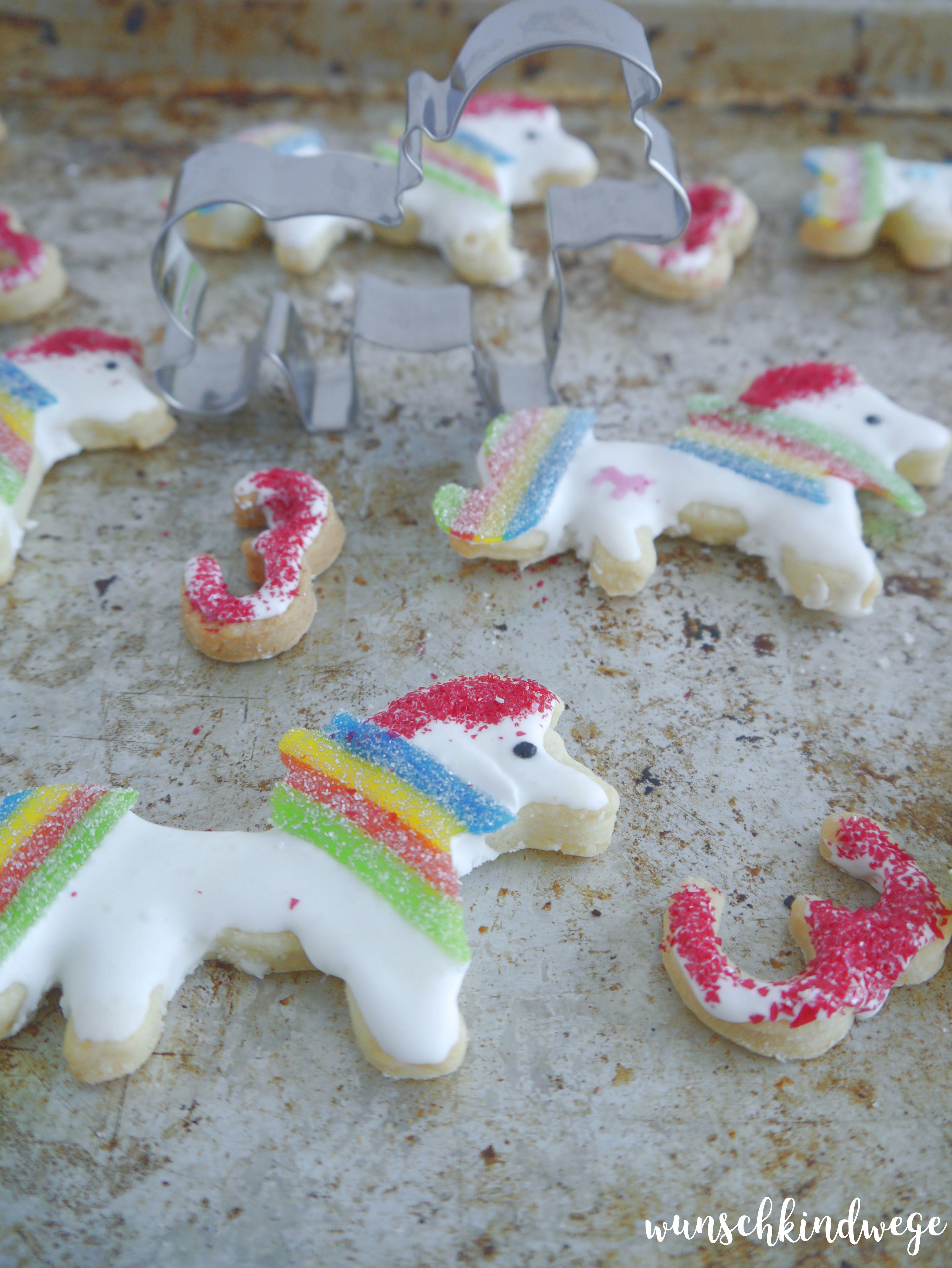 Einhorn Kekse
