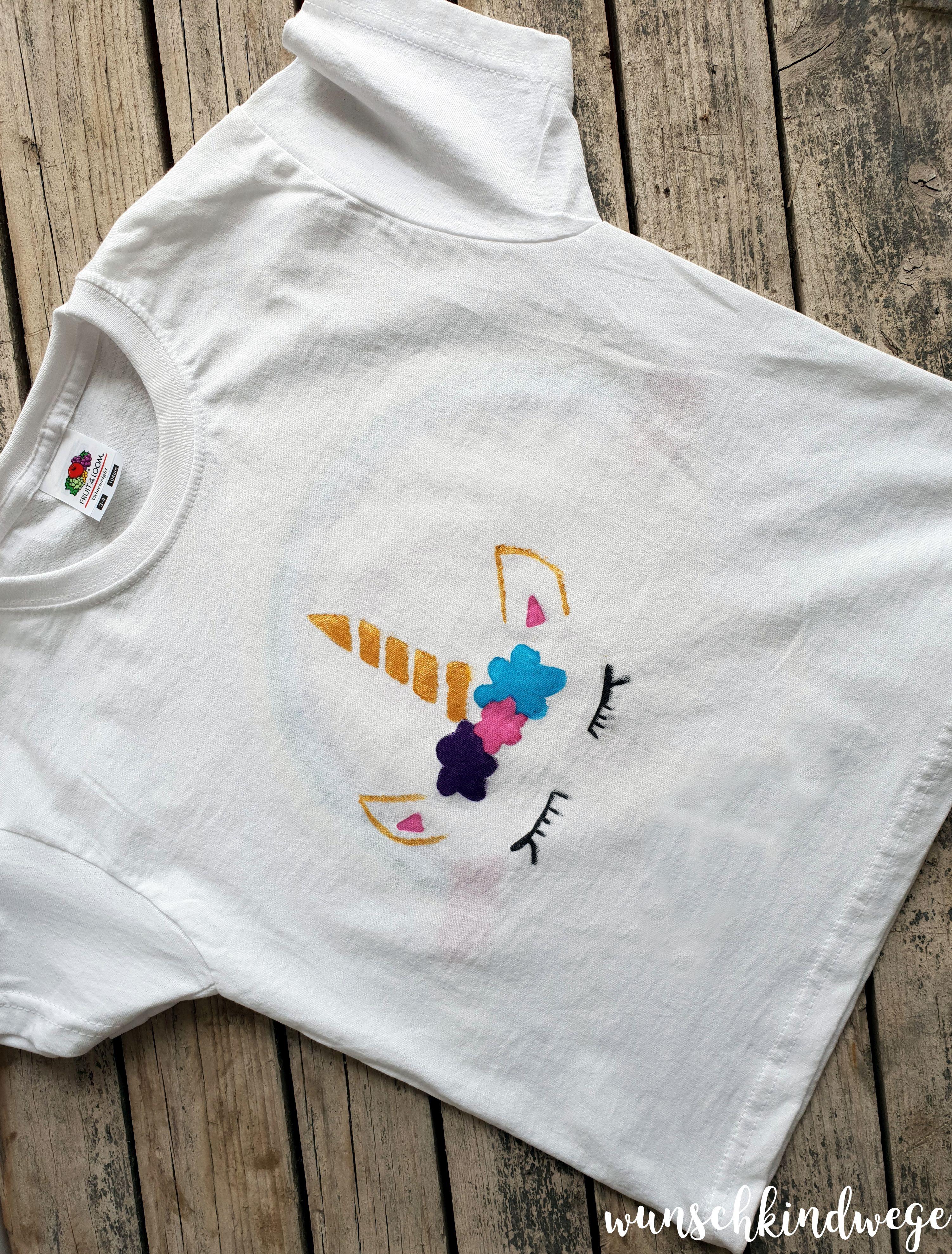 Einhorn Geburstag: Einhorn T Shirt