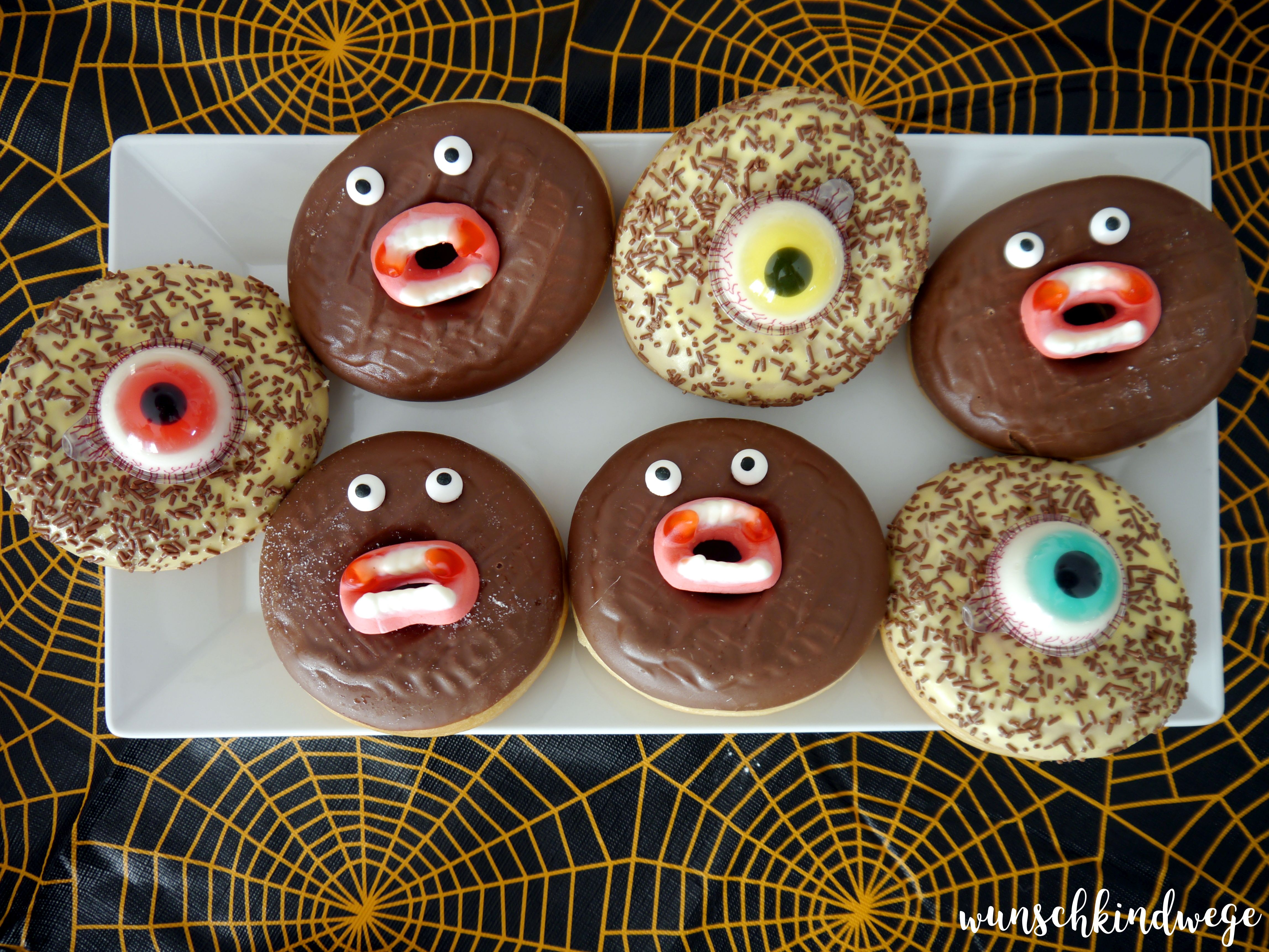 Halloweenparty Donuts
