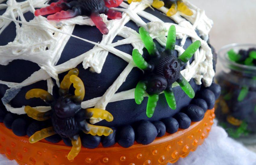 Halloweenparty Torte
