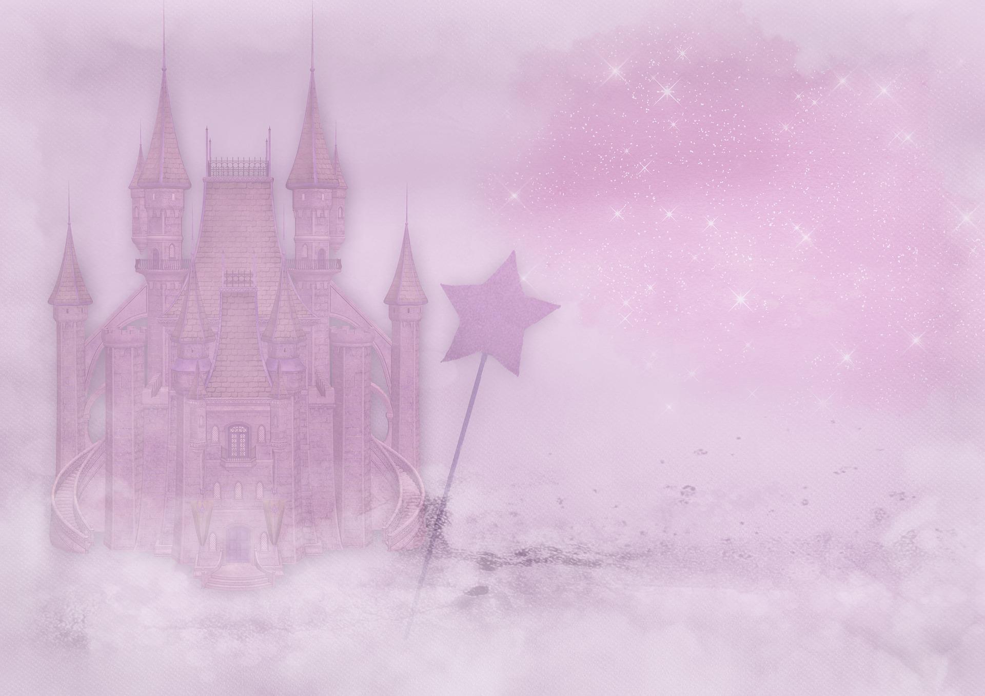 Geschlechterrrollen: rosa Schloss