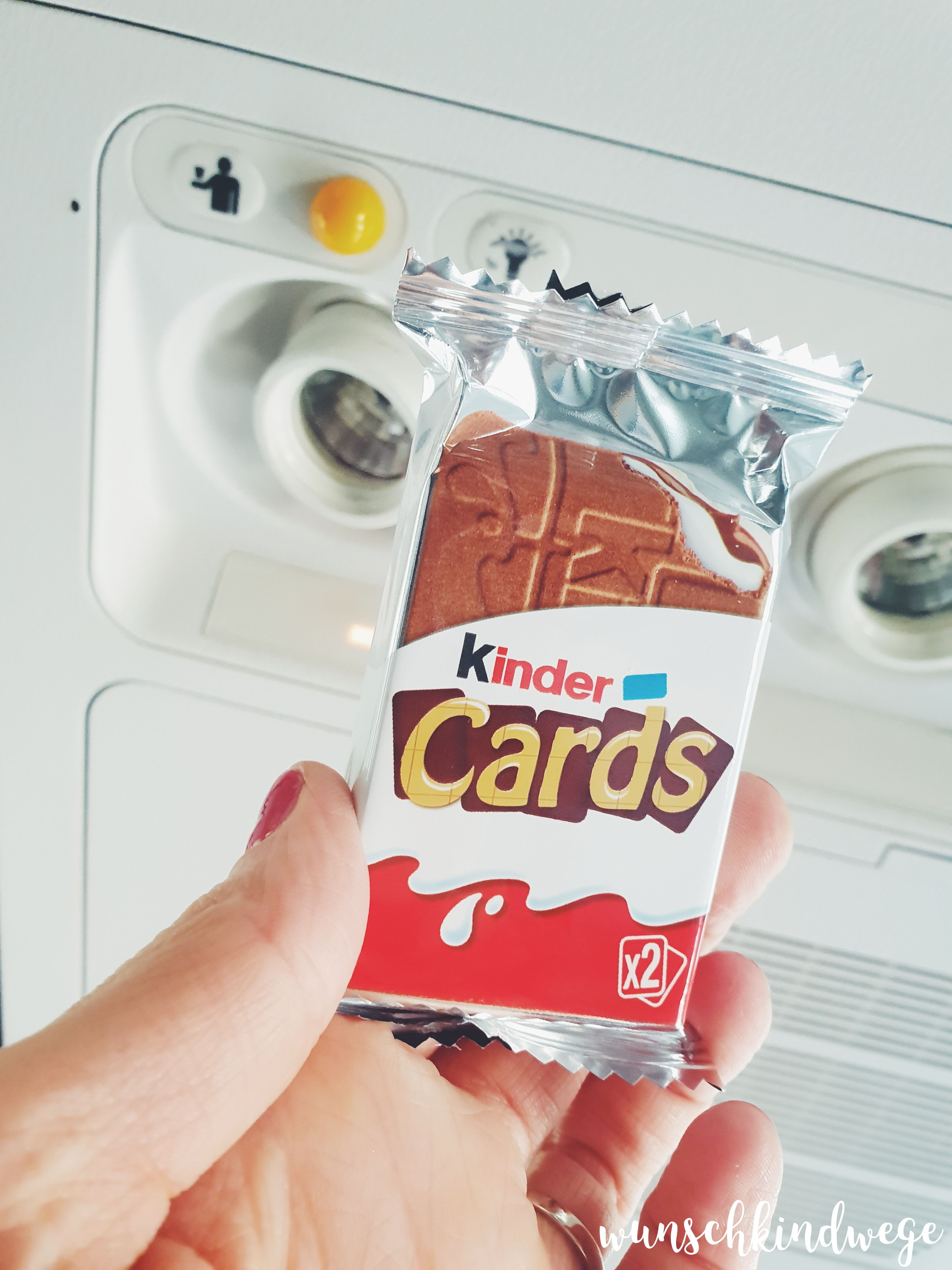 kinder Cards Rufknopf