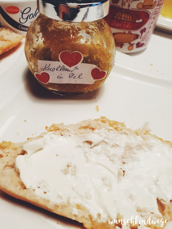 12 von 12 - Januar 2019: Knoblauch Frühstück