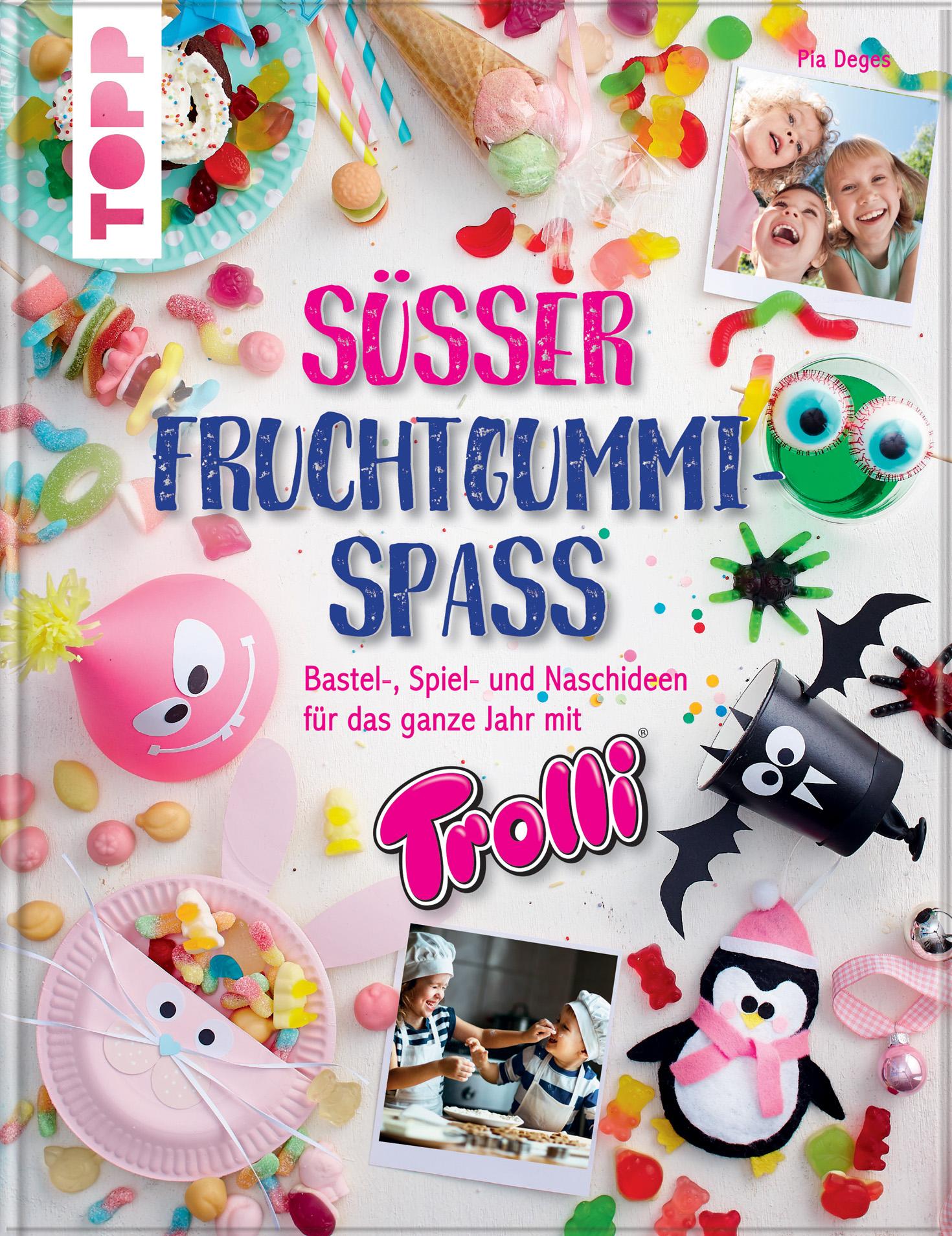 frechverlag Buchcover Süsser Fruchtgummi-Spass Schultütentorte