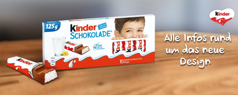 kinder Schokolade Infos