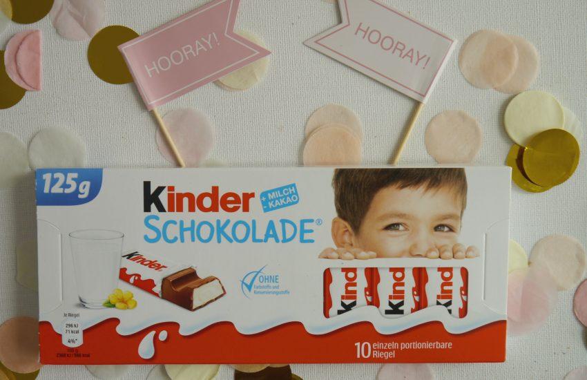 kinder Schokolade neue Generation