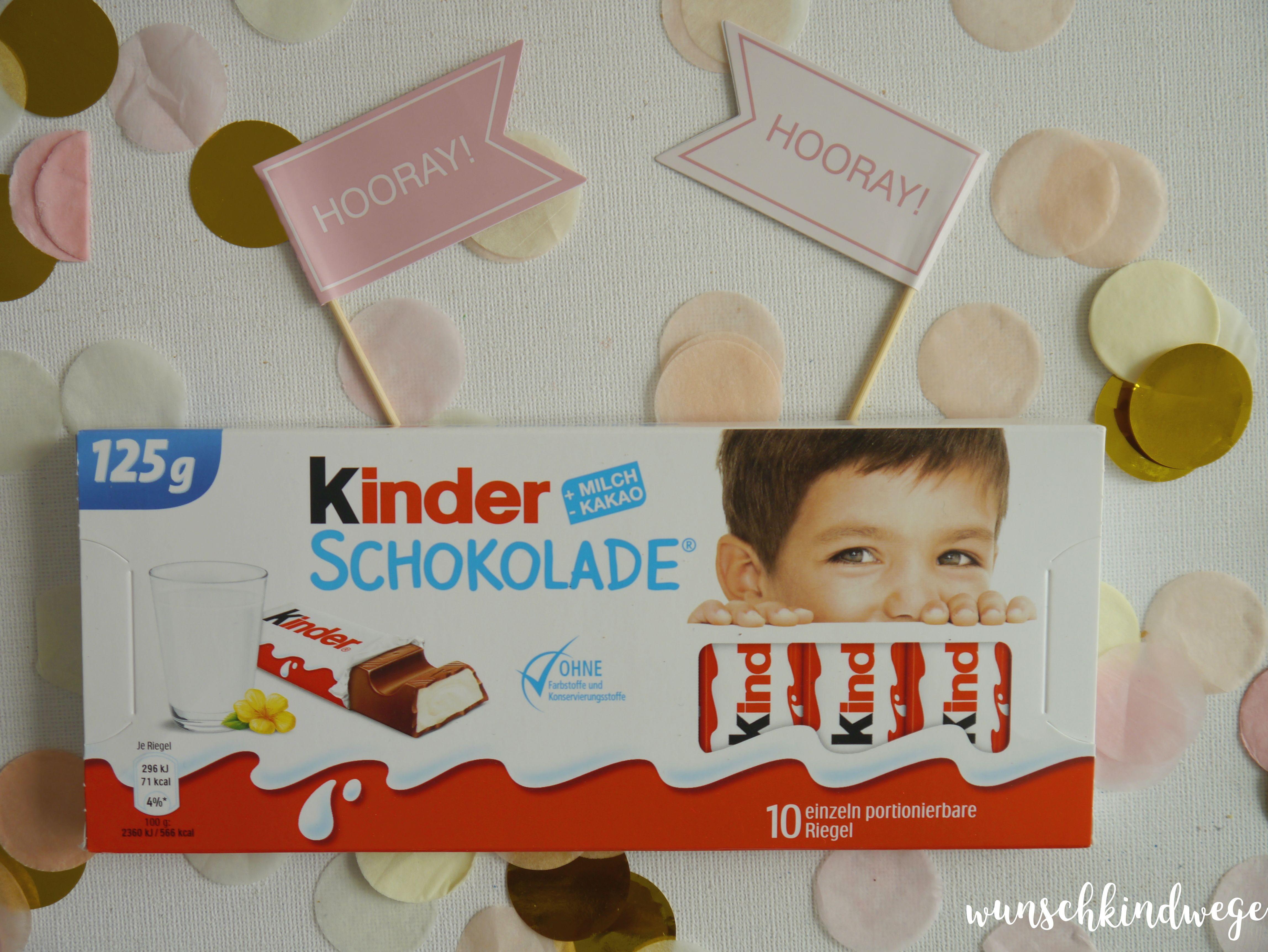 kinder Schokolade neue Verpackung