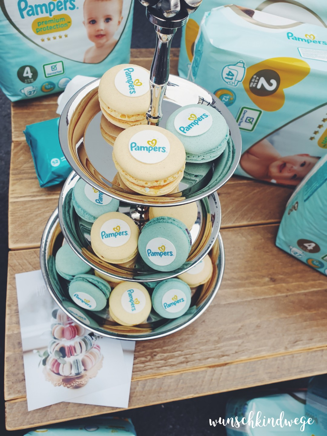 Pampers Macarons