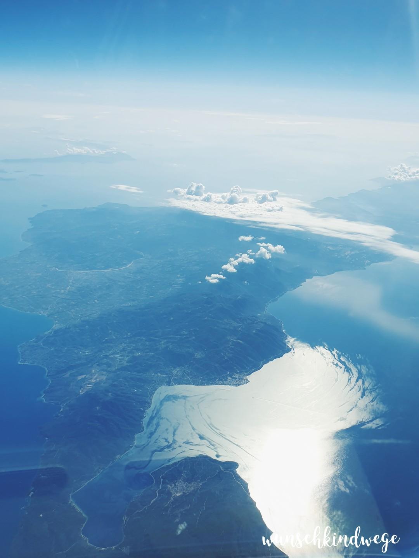 WMDEGDT Griechenland aus dem Flugzeug