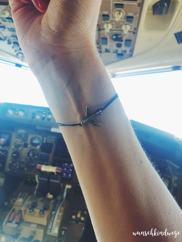 Flugzeug Armband