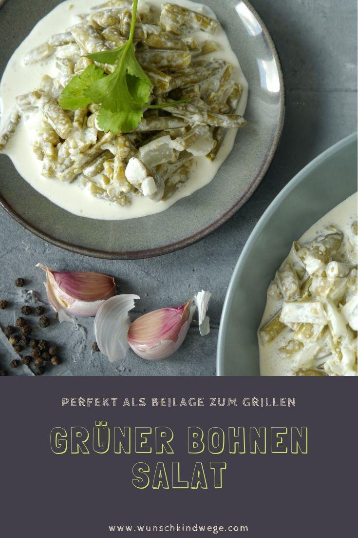 Grüner Bohnen Salat