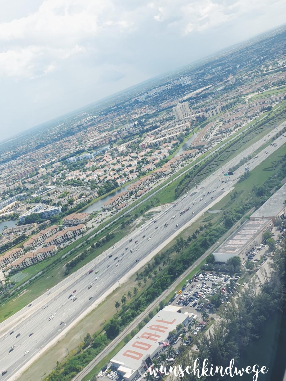 Anflug Miami International Airport