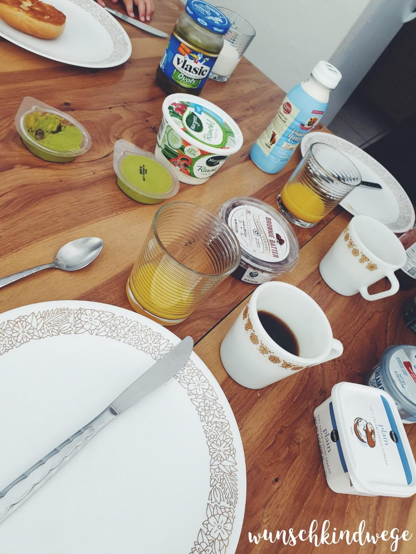 Frühstück in Florida