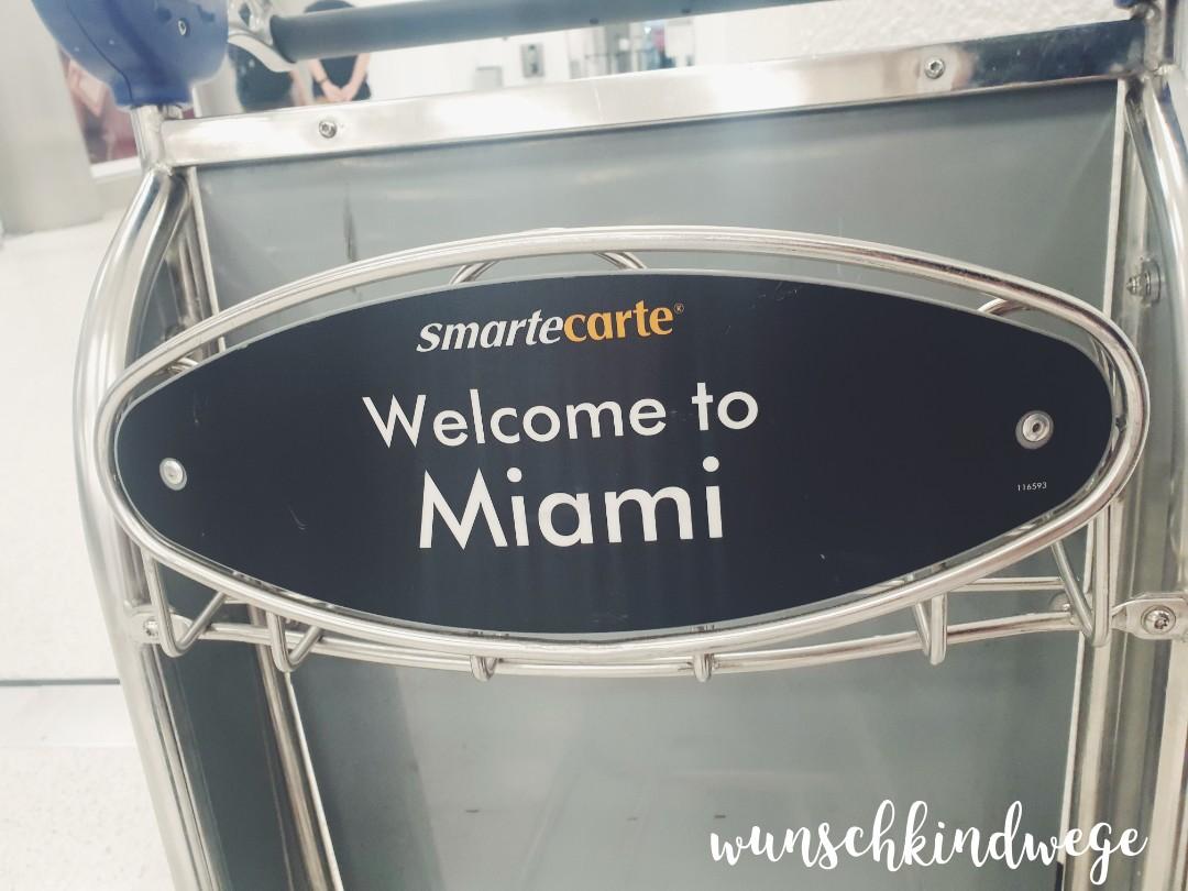 Welcome to Miami Gepäckwagen
