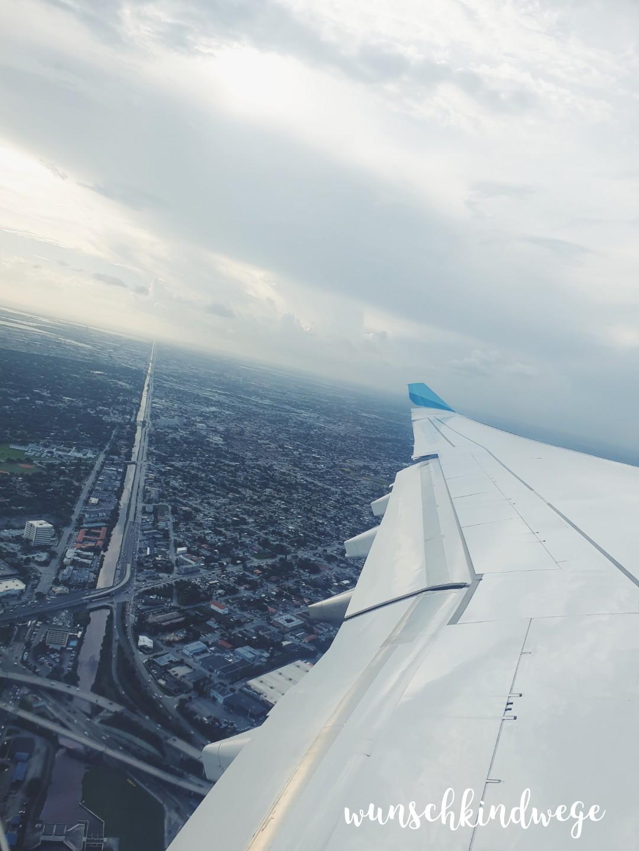 Departing Miami
