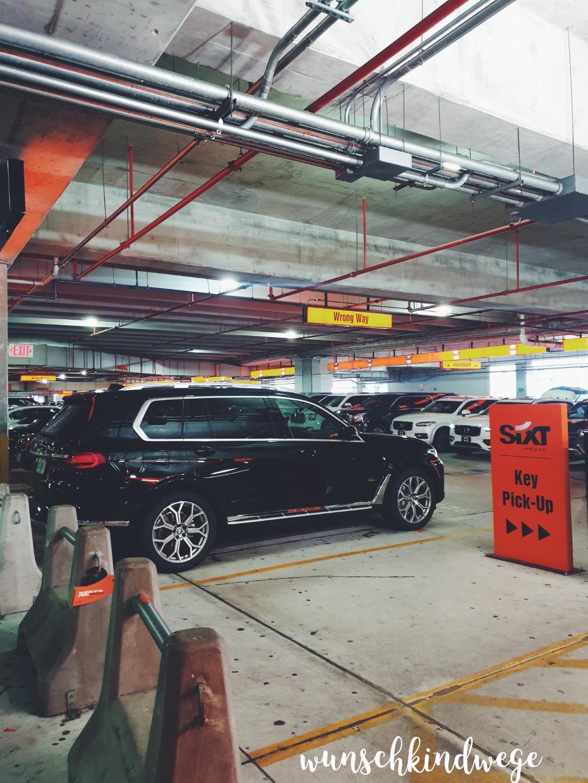 Miami Rental Car Center Garage