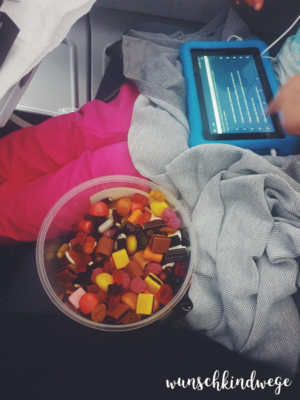 Mit Kindern nach Florida fliegen Süßigkeiten