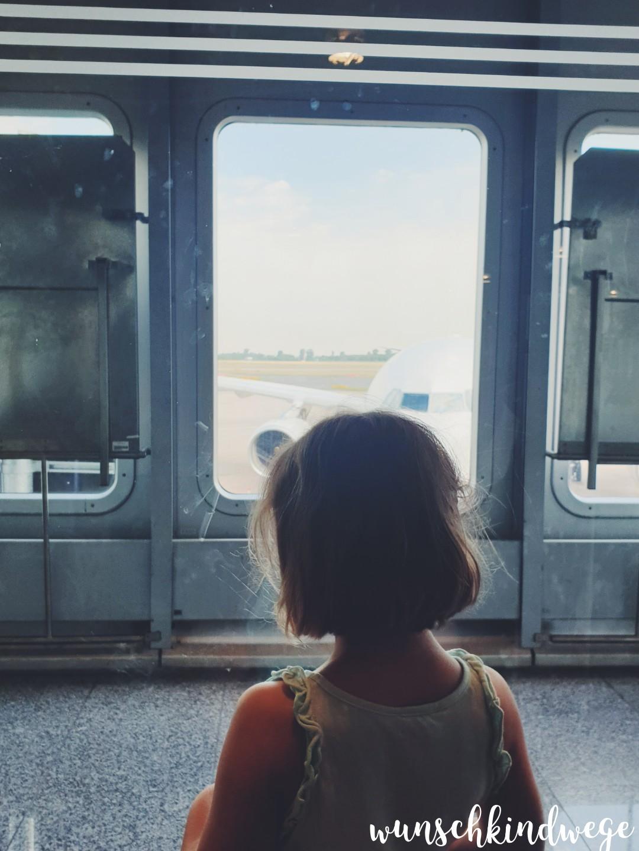 Warten aufs Boarding