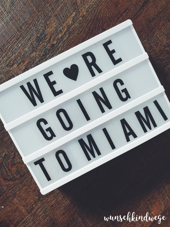 We're going to Miami Florida Lightbox