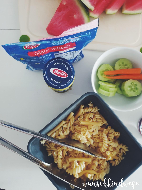 Mittagessen für die Kinder