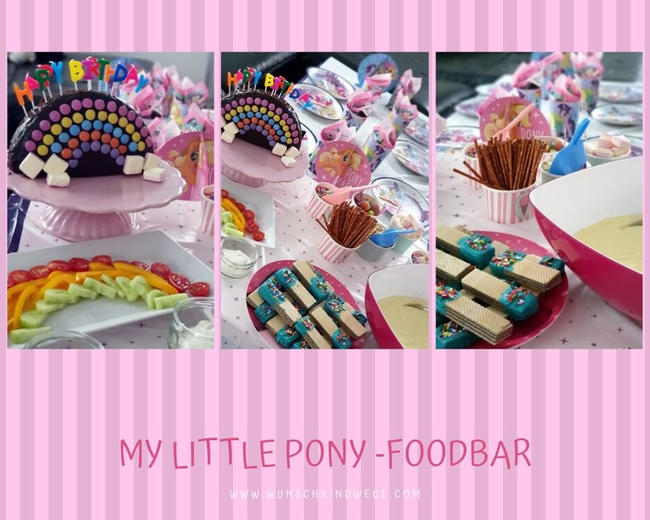 My little Pony Geburtstag - Foodbar