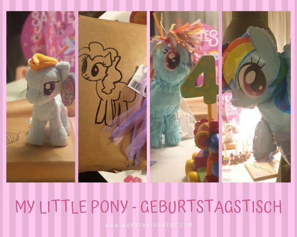 My little Pony - Geburtstagstisch