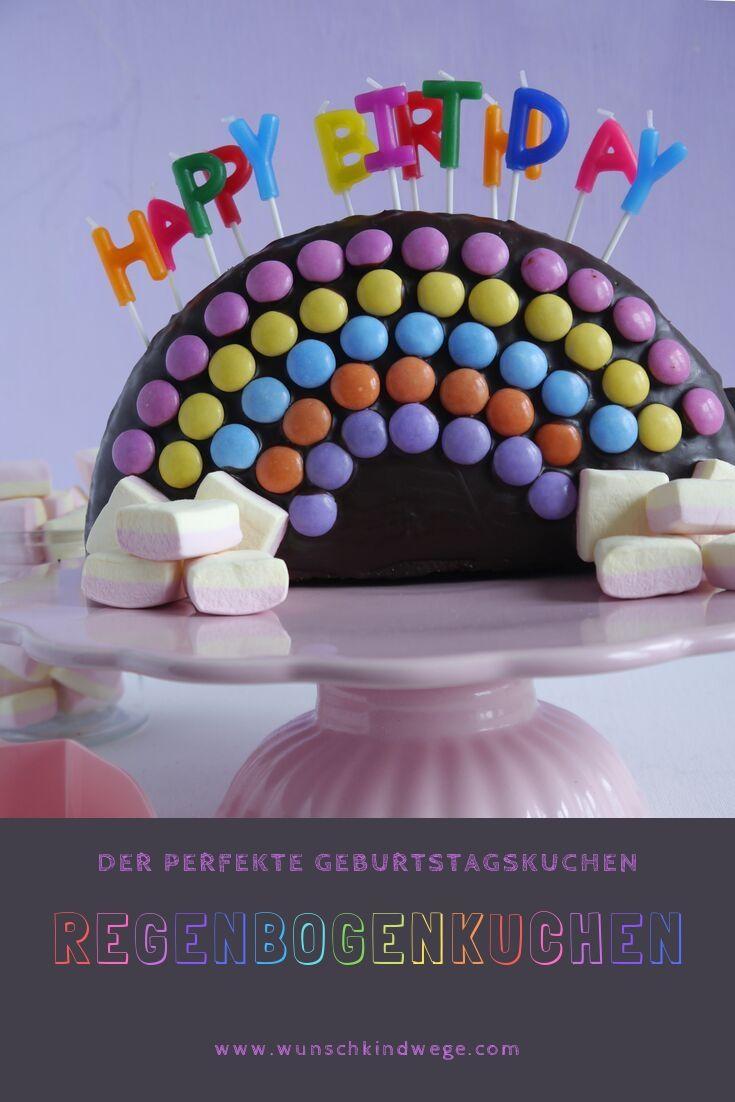 Regenbogenkuchen Pinterest