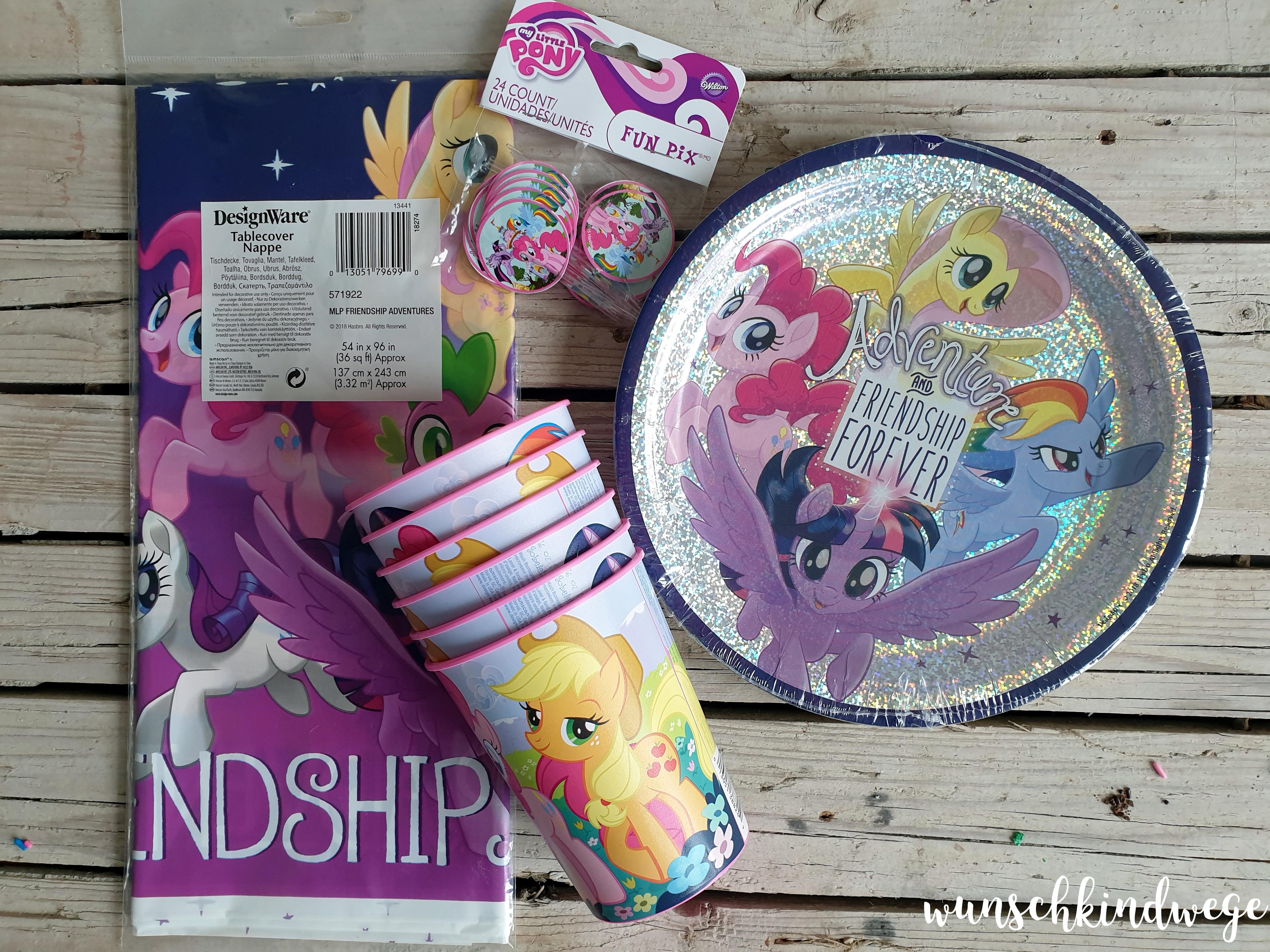 My little Pony Geburtstag - Tischdeko