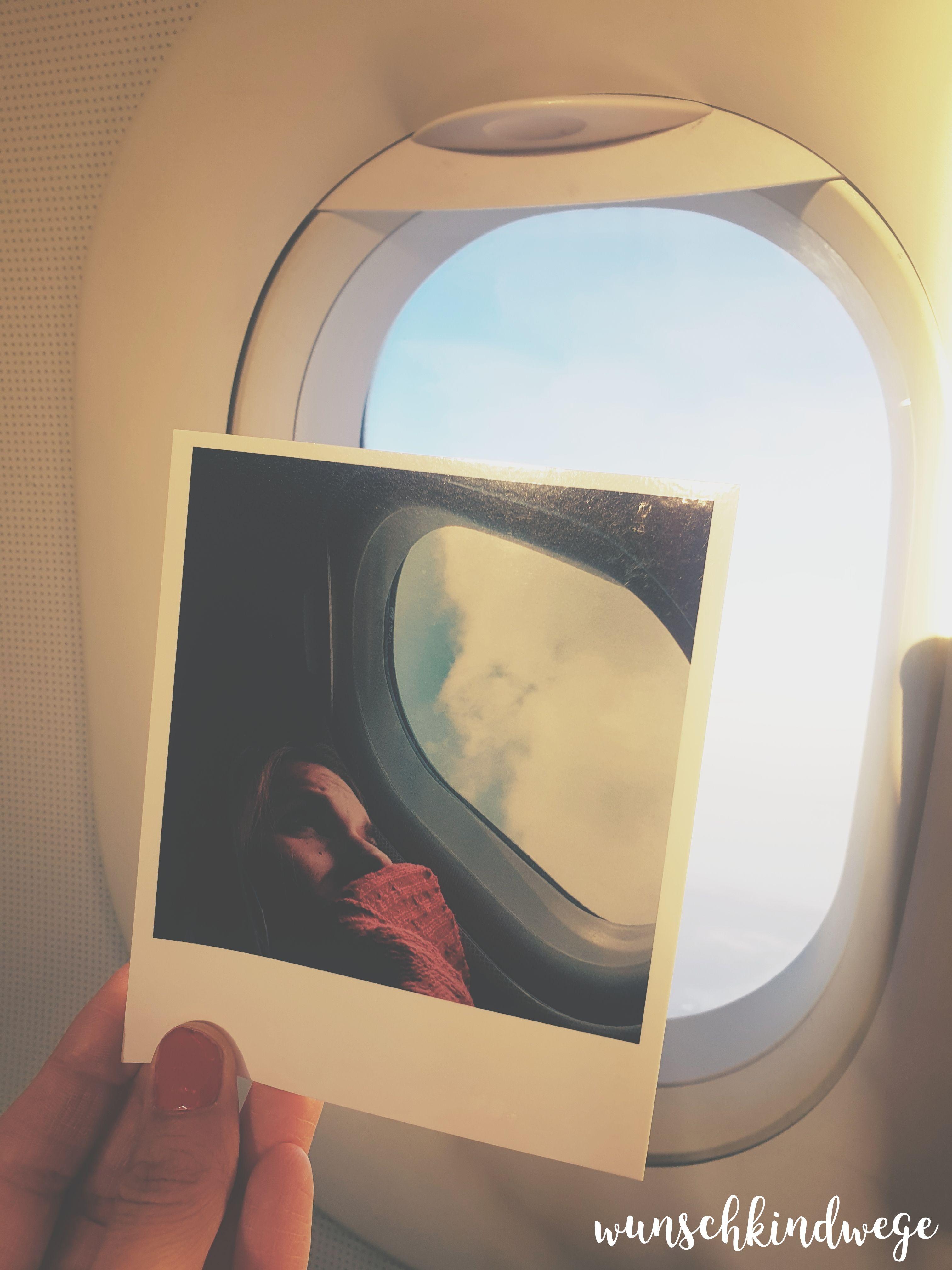 Fotoabzug-Instant-Flugzeug