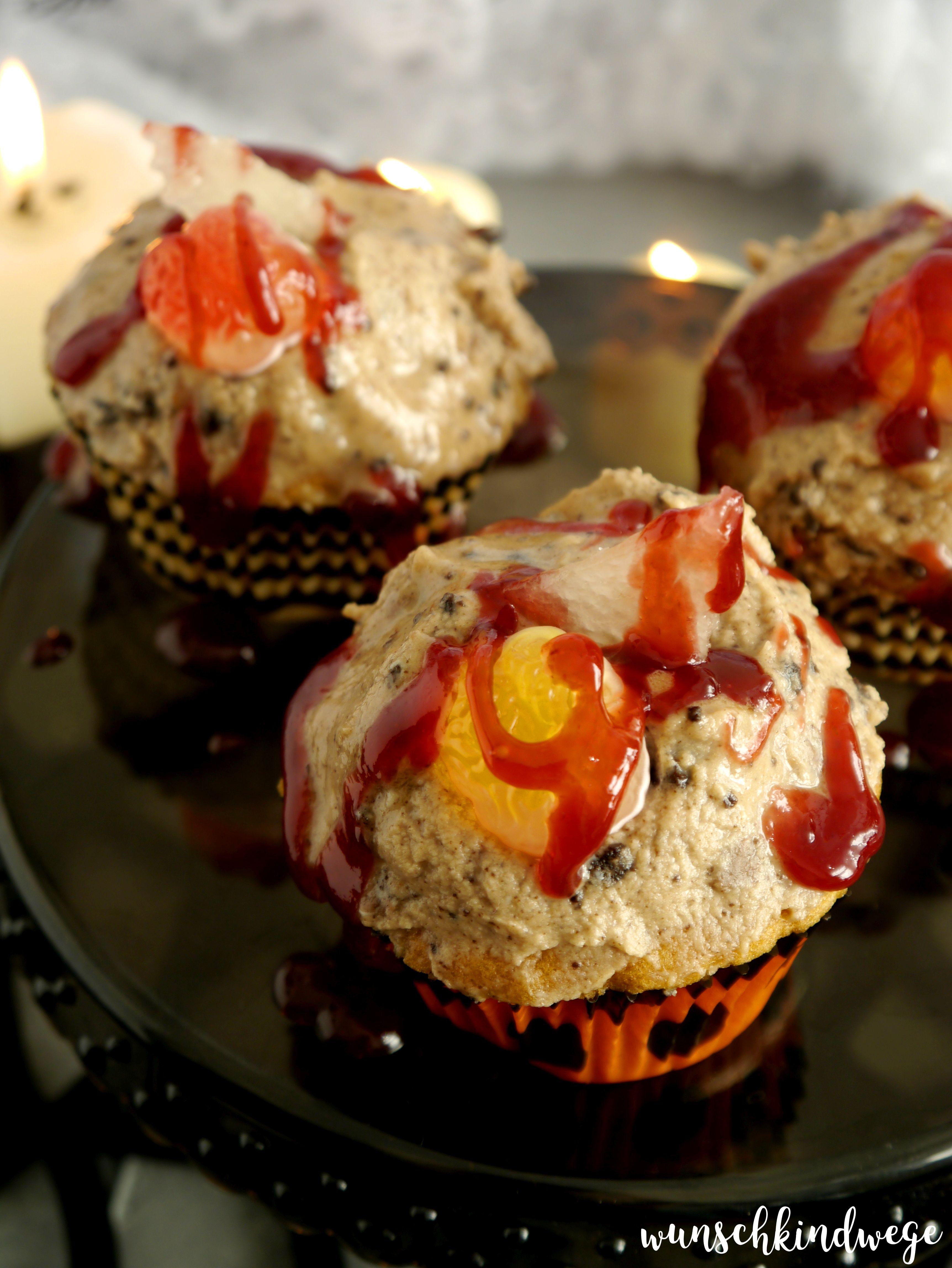 Glasscherben Cupcakes